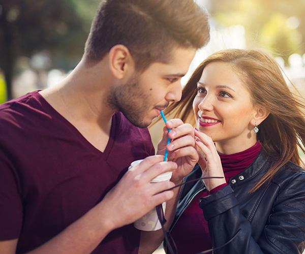 Mit dem eigenen partner flirten